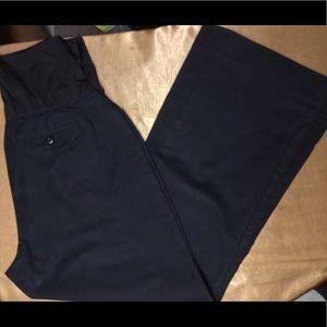 Gap Maternity Black Pants 14 Regular Stretch